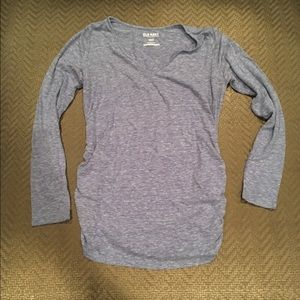 Long sleeved maternity top